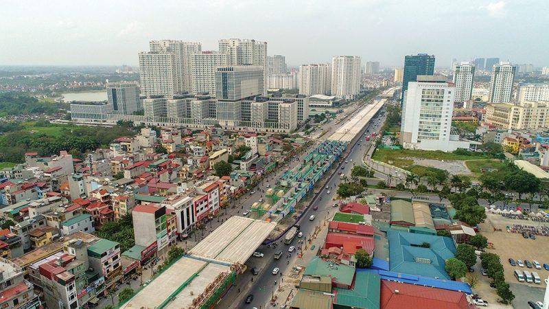 Cầu trên cao Mai Dịch - CTL